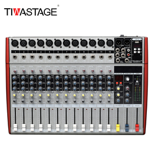 TWASTAGE 12 Channel Mixing Console DJ Mixer MS-12